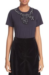 Marc Jacobs Women's Embellished Cotton Tee