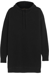 Agnona Waffle Knit Cashmere Hooded Sweater