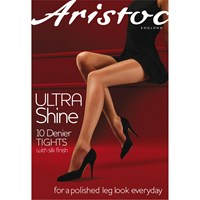 Aristoc 10 Denier Ultra Shine Tights Vaguely Black