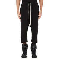 Rick Owens Drop Rise Crop Pants Black