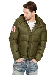 Denim And Supply Ralph Lauren Down Fill Puffer Jacket Terrain Green