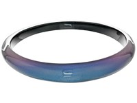 Alexis Bittar Tapered Bangle Bracelet Blue Velvet Bracelet
