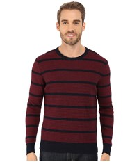 Lucky Brand Holiday Indigo Crew Multi Men's Sweater