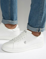 Fila Crosscourt Low Trainers White