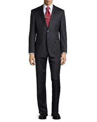 Hugo Boss Pasolini Movie Solid Wool Two Piece Suit Dark Grey