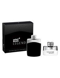 Montblanc Legend And Spirit Of Legend Gifset A 135.00 Value No Color