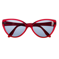J.Crew Cutler And Gross Cat Eye Sunglasses Cabernet