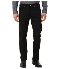 True Religion Geno With Flap Overdye Twill In Black Black Men's Casual Pants