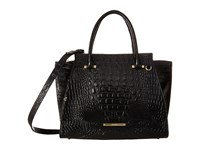 Brahmin Priscilla Satchel Black Satchel Handbags