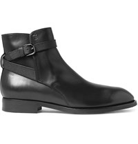 Tod's Jodhpur Leather Boots Black