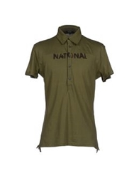 Cnc Costume National C'n'c' Costume National Polo Shirts Military Green