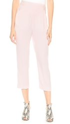 Dion Lee Tailored Tux Pants Ghost Pink