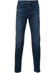 Ksubi Slim Fit Jeans Blue