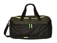 Hurley Fusion Duffle Green Voltage Green White Duffel Bags Black