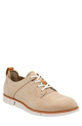 Men's Clarks 'Trigen Walk' Oxford Sand Nubuck