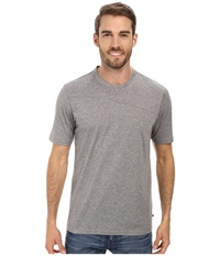 Toadandco Onrush S S Crew Smoke Heather Men's Short Sleeve Pullover Gray