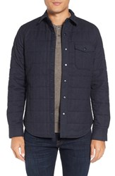 Bonobos Men's Quilted Herringbone Shirt Jacket