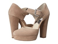 Michael Michael Kors Flynn Platform Dark Khaki Women's Maryjane Shoes