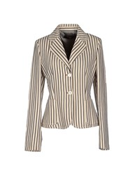 Laltramoda Suits And Jackets Blazers Women Ivory