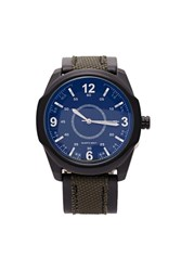 Forever 21 Men Canvas Analog Watch