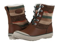 Keen Elsa Boot Wp Wool Striped Women's Waterproof Boots Brown