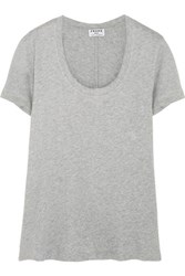 Frame Le Classic Supima Cotton Jersey T Shirt Gray