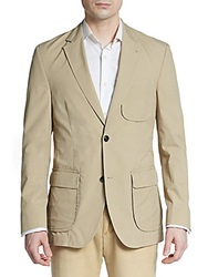 Kroon Harrison Cotton Jersey Sportcoat Tan