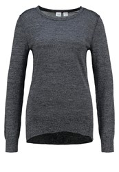 Gap Jumper Charcoal Heather Mottled Dark Grey