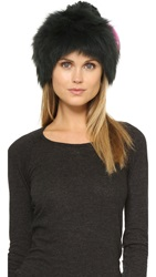 Jocelyn Fur Knitted Hat Hunter