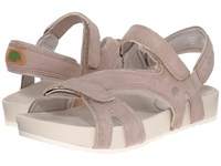 Earth Magic Taupe Soft Buck Women's Sandals Brown