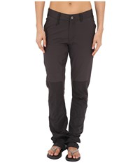 Fjall Raven Abisko Lite Trousers Dark Grey Women's Casual Pants Gray