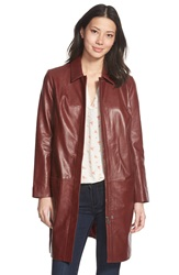 Halogen Leather Topper Red Fire
