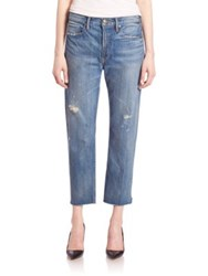 Vince Distressed Cropped Jeans Craftsman