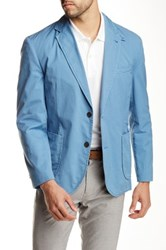 Kroon Bono 2 Notch Lapel Sport Coat Blue