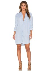 Rails Sawyer Button Down Dress Blue