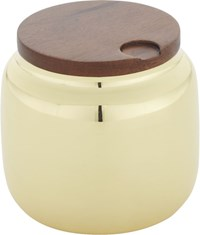 Cb2 Capsule Gold Canister