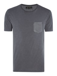 Label Lab Rhino Sateen Pocket And Black Tee Grey