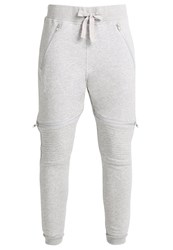 Reebok Moto Tracksuit Bottoms Grey