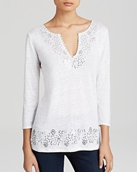 Moon And Meadow Sequin Linen Tunic