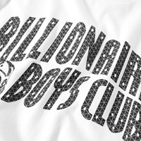 Billionaire Boys Club Arch Logo Reflective Grid Tee White