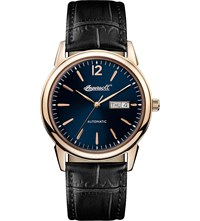 Ingersoll New Haven Automatic Black Leather Watch