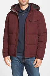Rodd And Gunn 'Leverett' Water Resistant Quilted Down Jacket With Removable Hood Navy