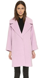 J.O.A. Notched Lapel Coat Lilac