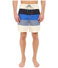 Nautica Mix Color Block Trunk Sailcream Men's Swimwear Multi
