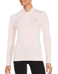 Lord And Taylor Twist Neck Top Sweet Kiss