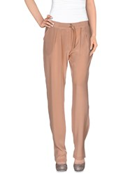 Bel Air Trousers Casual Trousers Women Skin Color