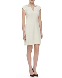 Zac Posen Cap Sleeve Day Dress 10