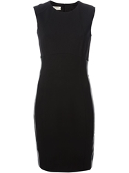 Pinko Fitted Side Panel Dress Black