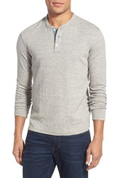 Men's Faherty 'Duofold' Double Layer Long Sleeve Henley