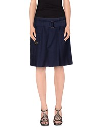 Marc Jacobs Skirts Knee Length Skirts Women Dark Blue